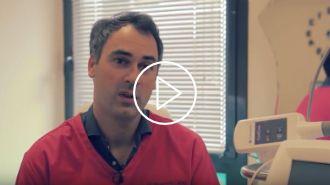 Aperçu vidéo d'une cryolipolyse avec le Docteur Vincent Dellière à Rennes
